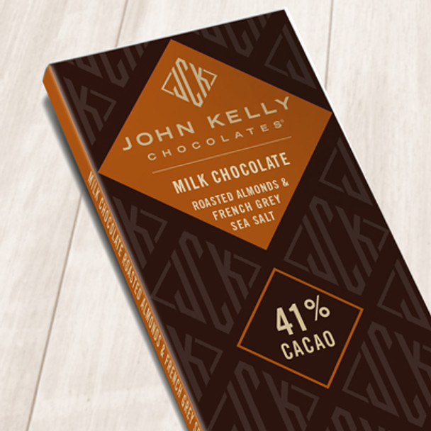 JOHN KELLY ROASTED ALMONDS & FRENCH GRAY SEA SALT 42%