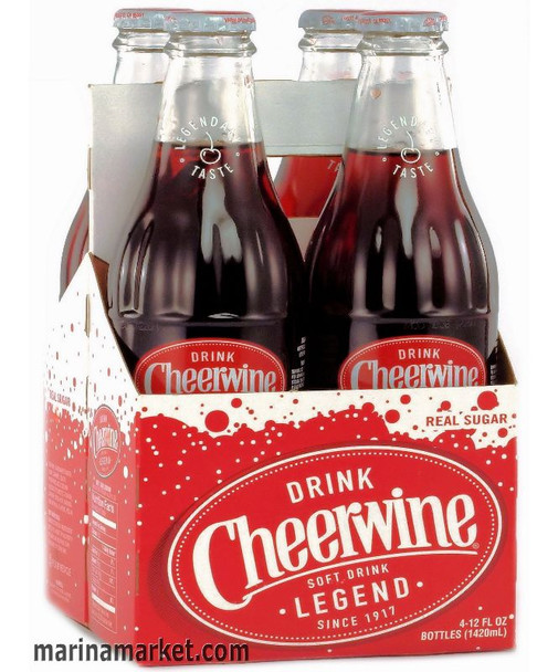 Cheerwine Cherry Soda 4pk
