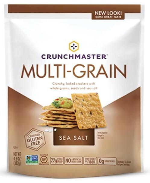 CRUNSHMASTER MULTI-GRAIN GF ORIG SEA SALT 4.5oz