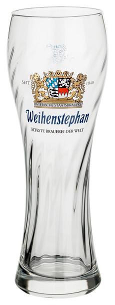 WEIHENSTEPHAN BEER GLASS .5ltr