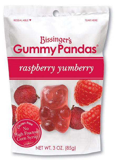 BISSINGERS RASPBERRY YUMBERRY GUMMY PANDAS 3oz