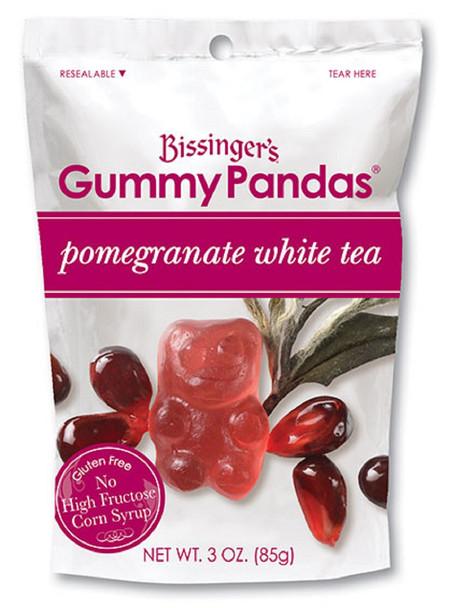BISSINGERS POMEGRANATE WHITE TEA GUMMY PANDAS 3oz