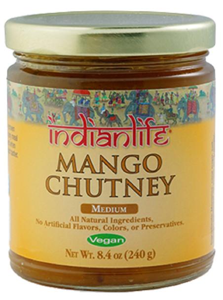 INDIAN LIFE MANGO CHUTNEY 8.4oz
