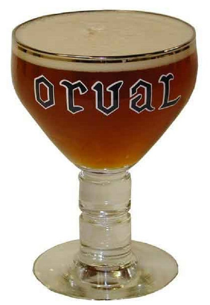 ORVAL CHALICE GLASS 33 cl