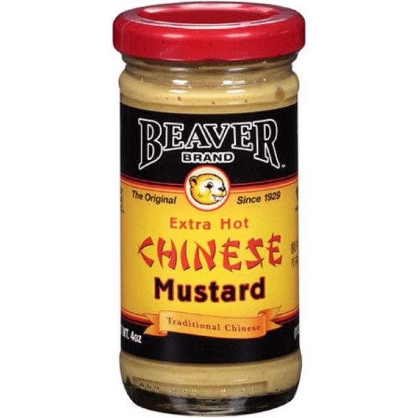 BEAVER EXTRA HOT CHINESE MUSTARD 4oz