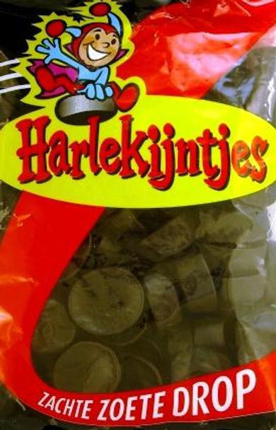 BARONIE HARLEKIJNTJES SWEET LICORICE FACES 226g