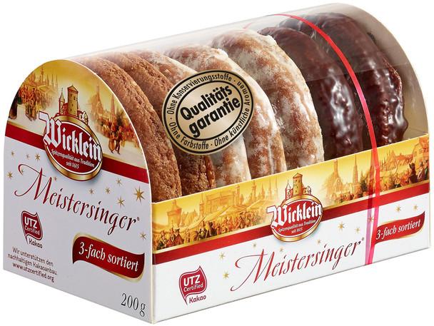 WICKLEIN TRIO NUREMBERG LEBKUCHEN 20% NUTS