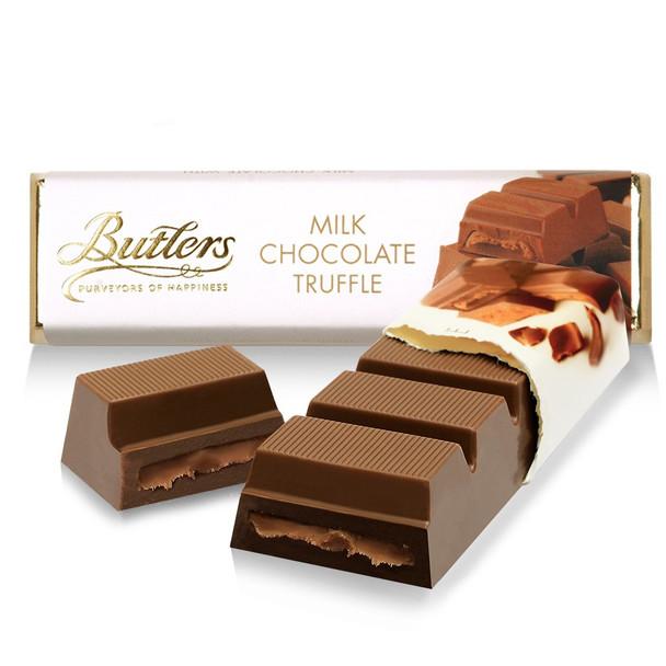 BUTTLERS MILK CHOCOLATE TRUFFLE BAR 75g