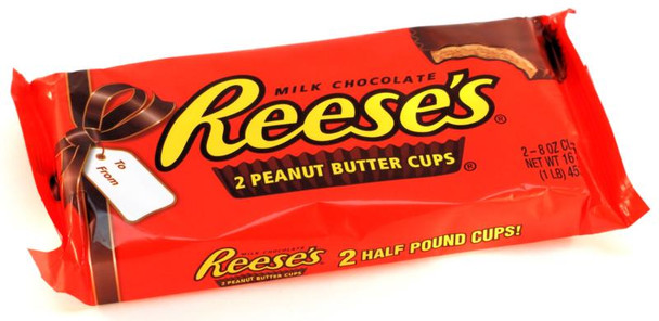REESE'S CUPS Two  Half Pound Cups
