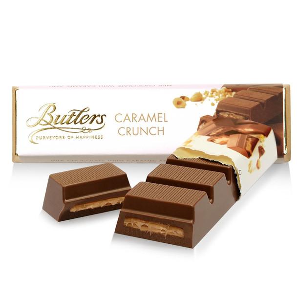 BUTTLERS MILK CHOCOLATE CARAMEL CRUNCH BAR 75g