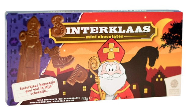 STEENLAND SINTERKLAAS CHOCOLATES 90g