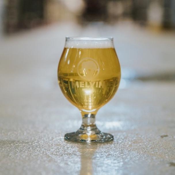 MELVIN TULIP BEER GLASS