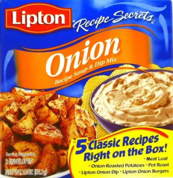 LIPTON ONION SOUP MIX 2oz