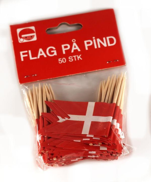 TOOTHPICK FLAGS DANISH 50ct