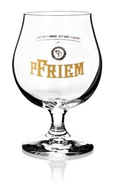 PFRIEM BRUSSELS BEER GLASS