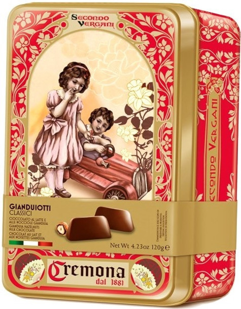 VERGANI GIANDUIOTTI CLASSIC GIFT TIN  120g