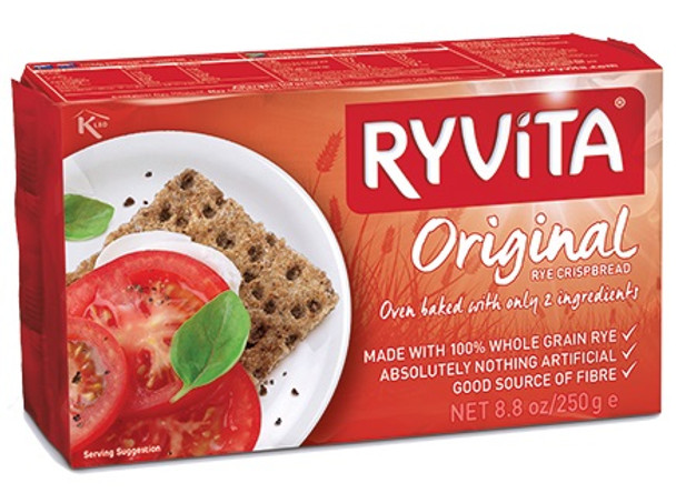 RYVITA ORIGINAL DARK RYE CRISPBREAD