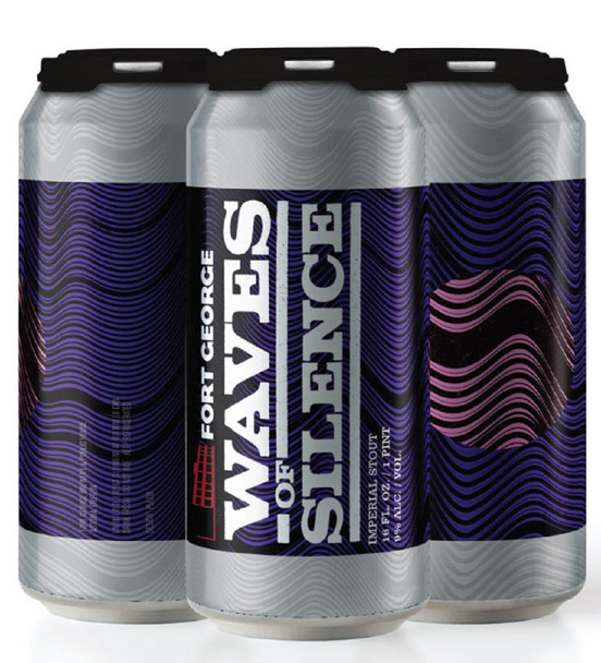 Fort George has a long held fascination with stouts. Waves of Silence allows the brewery to explore the darker recesses of their recipe books. What do they hold? The possibilities are fathomless. Each wave is a unique experience.