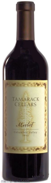 TAMARACK CELLARS 2015 COLUMBIA VALLEY  MERLOT 750ml