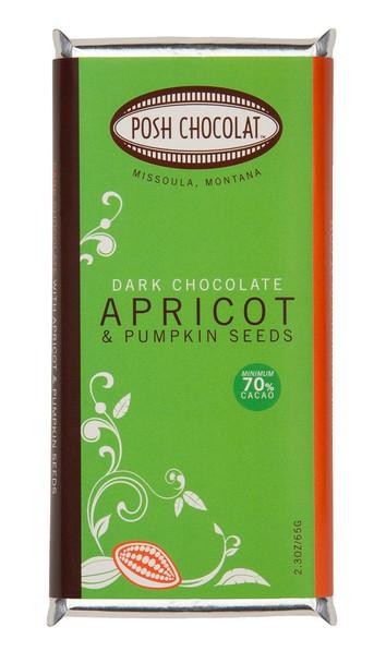 POSH APRICOT PUMPKIN SEEDS DARK CHOCOLATE