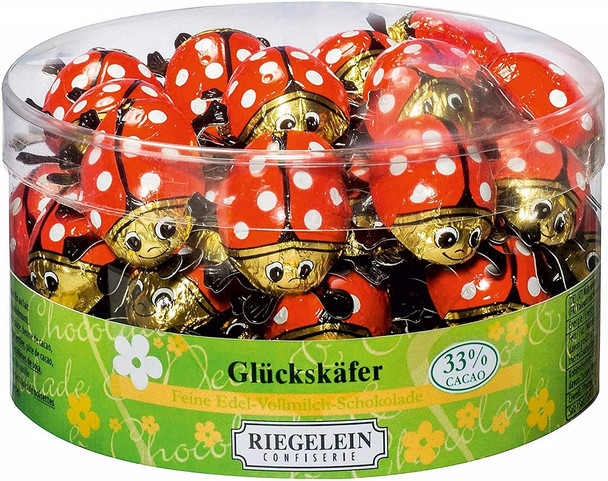 RIEGELEIN CHOCOLATE LADY BUGS
