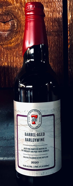 7 SEAS WHISKEY & PORT BARREL AGED BARLEYWINE 22oz