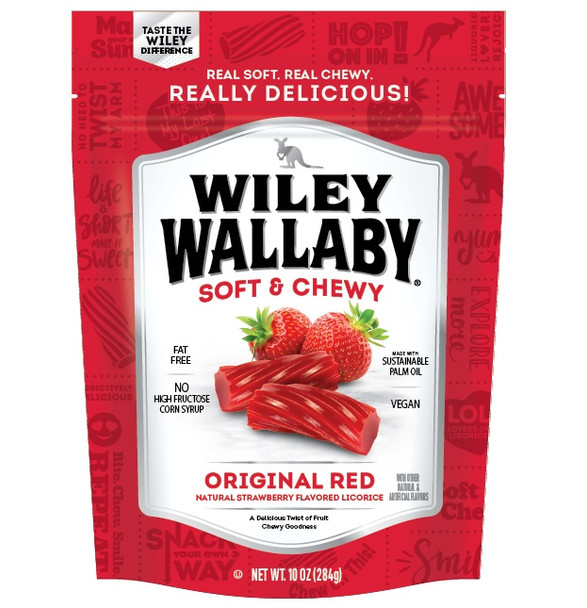 WILEY WALLABY RED LICORICE