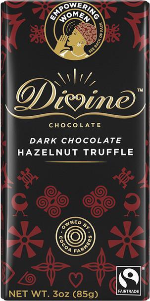 DIVINE DARK CHOCOLATE HAZELNUT TRUFFLE