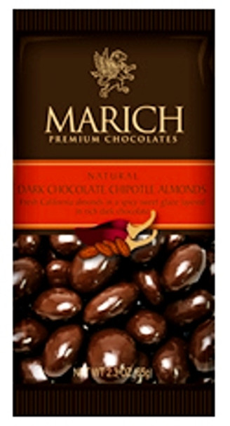 MARICH Dark Chocolate Covered Chipotle Almonds 65g