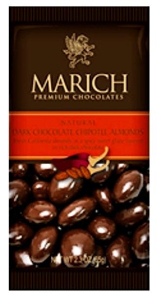 MARICH Dark Chocolate Covered Chipotle Almonds 65g