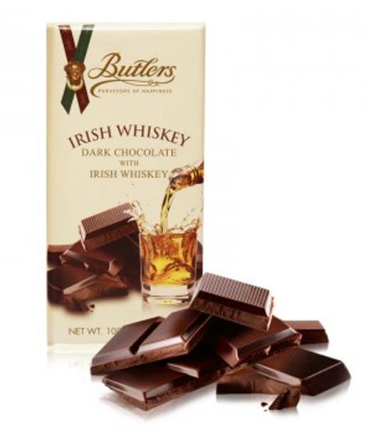 BUTLERS IRISH WHISKEY DARK CHOCOLATE TRUFFLE BAR 200g