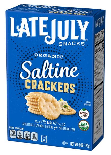 LATE JULY SALTINES