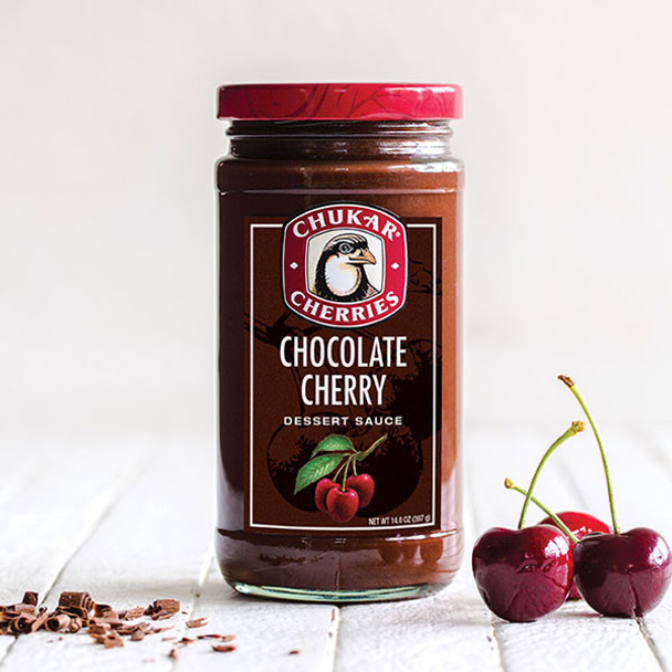 CHUKAR CHOCOLATE CHERRY SAUCE