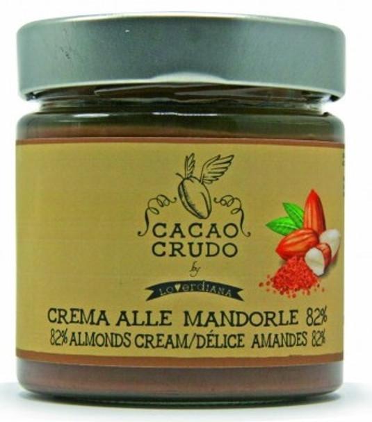 CACAO CRUDO RAW ALMOND SPREAD 200g