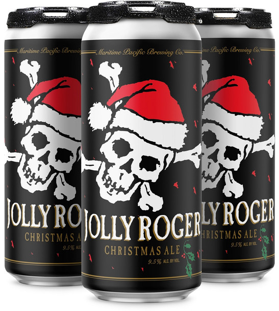 MARITIME PACIFIC JOLLY ROGER CHRISTMAS ALE