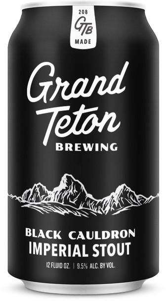 GRAND TETON BLACK CAULDRON IMPERIAL STOUT