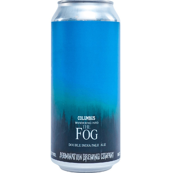 ABOMINATION BREWING COLUMBUS WANDERING INTO THE FOG DOUBLE IPA 16oz