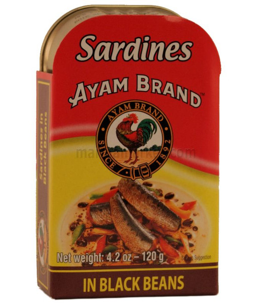 AYAM SARDINE BLACK BEAN SAUCE 120g