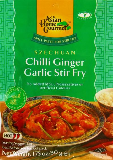 ASIAN HOME GOURMET CHILLI GINGER GARLIC STIR FRY
