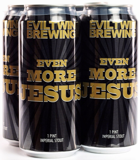 EVIL TWIN EVEN MORE JESUS 4-PK