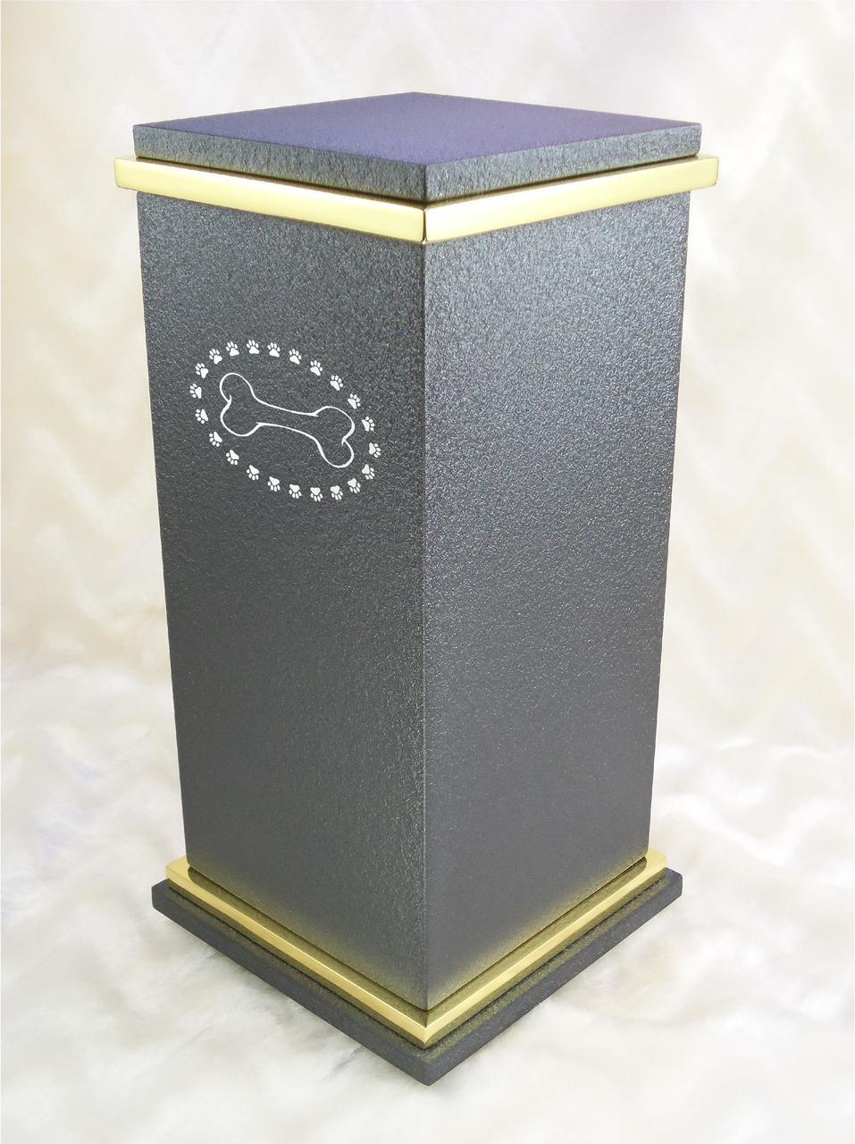 PERSONALIZED RG Custom Engraved Dog Bone Cremation Urn Vault by Amaranthine  Urns, made in the USA