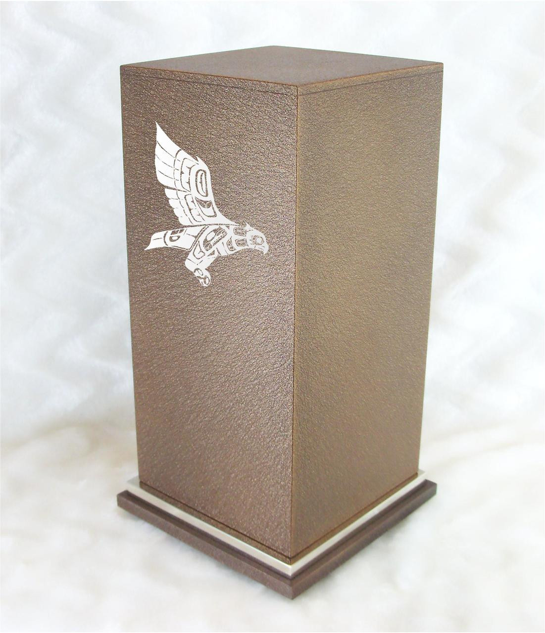 PERSONALIZED SE Custom Engraved Guardian Owl Cremation Urn Vault by  Amaranthine Urns, made in the USA