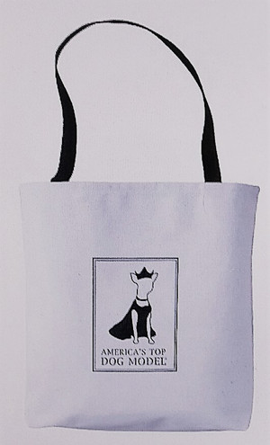 America's Top Dog Model White Signature Tote