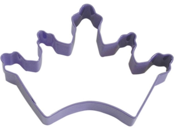 Lavender Crown Cookie Cutter