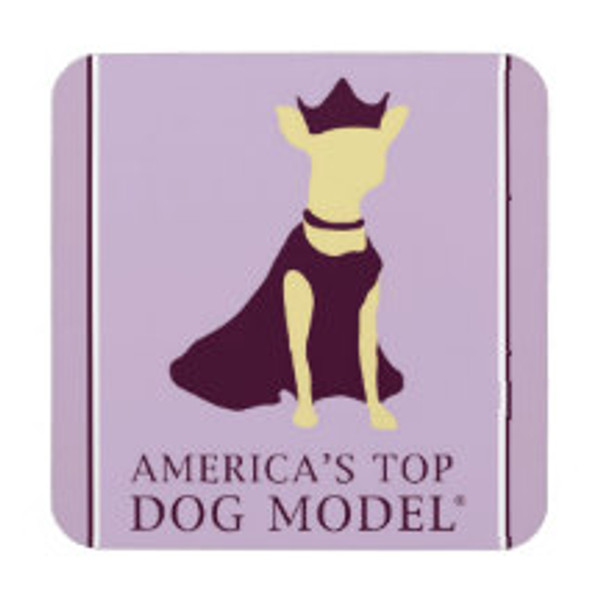 America's Top Dog Model Signature Coaster
