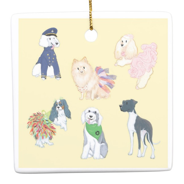 America's Top Dog Model Twelfth Anniversary Ornament