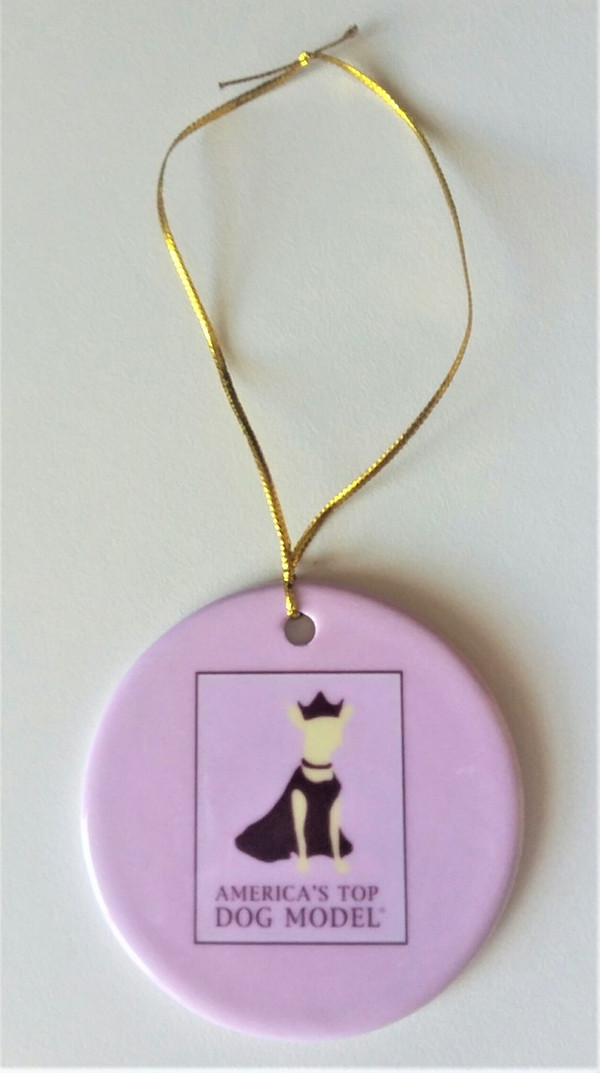 America's Top Dog Model Signature Ornament
