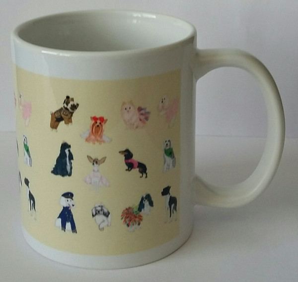 America's Top Dog Model Twelfth Anniversary Mug