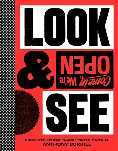 Anthony Burrill: Look & See: Collected Ephemera and Printed Material