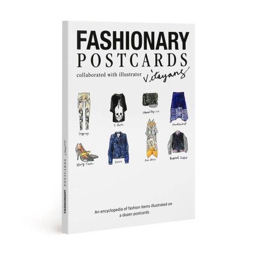 Fashionary Postcards: Illustrated by Vita Yang